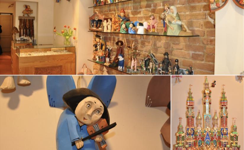 Drewniane ręcznie robione anioły oraz szopki bożonarodzeniowe doskonałe na upominek